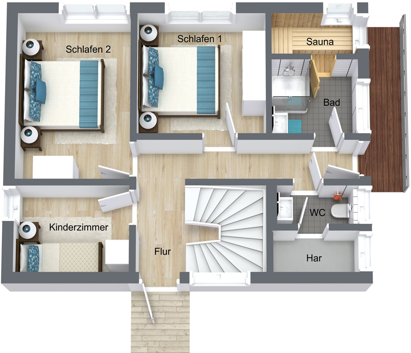 Steelvoll Design - Floating Houses